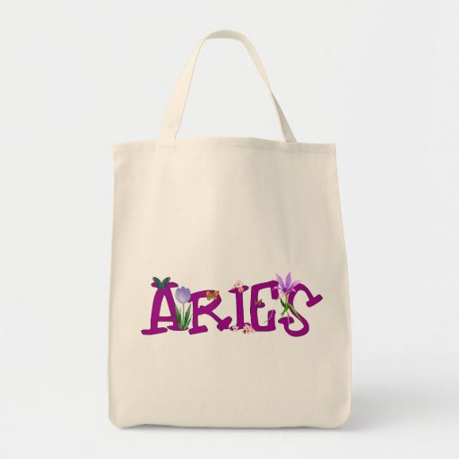 Aries Flowers Bag