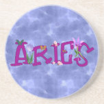 Aries Flowers Coasters