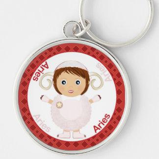 Aries Girl Character Keychain