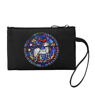 Aries Gothic Stained Glass Windows Chartres - Coin Wallet