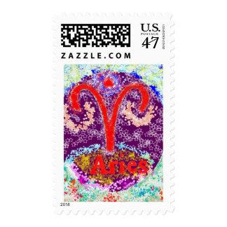 ARIES hermoso del símbolo del ZODIACO Timbres Postales