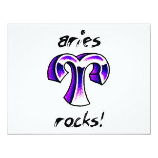 Aries Horoscope Design! Card