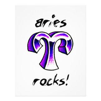 Aries Horoscope Design! Flyers
