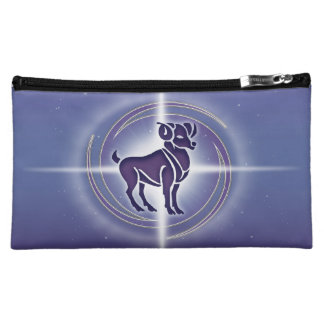 Aries Horoscope Lavender HLRX Makeup Bag