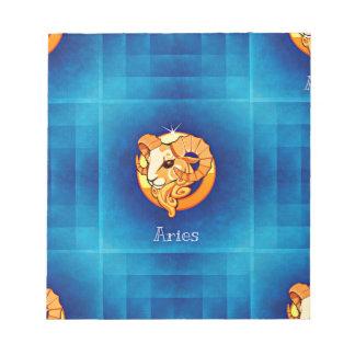 aries horoscope notepad