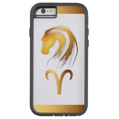 Aries Horse Chinese and Western Astrology Iphone Tough Xtreme iPhone 6 Case