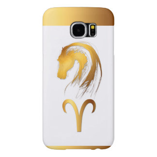 Aries Horse Chinese and Western Astrology Samsung Samsung Galaxy S6 Case