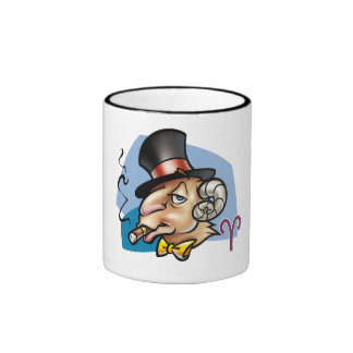 Aries, I am:Challenging& Impulsive!, My motto:,... Coffee Mug