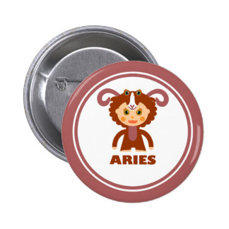 Aries is my Zodiac Sign Button