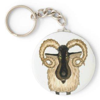 Aries Keychain keychain