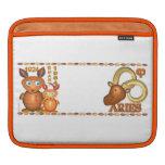 Aries llevado de la rata de madera del zodiaco de  fundas para iPads