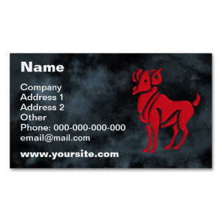 Aries Magnetic Business Card