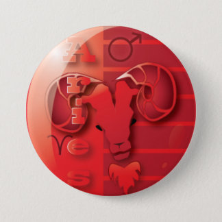 Aries-March 21 to April 20 Pinback Button