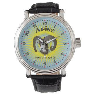 Aries March 21 to el abril 20 Watch Reloj