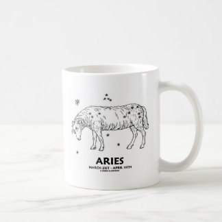 Aries (March 21st - April 19th) Coffee Mug