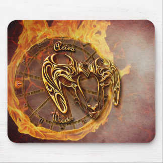 Aries March 21st until April 20th Horoscope Mouse Pad