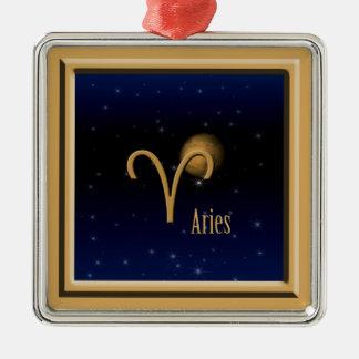 Aries Mars Premium Square Ornament