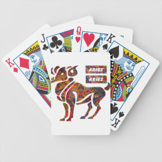 ARIES MAYAN HOROSCOPES PRODUCTS BICYCLE PLAYING CARDS