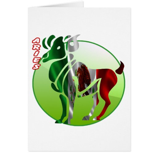 ARIES MEXICO HOROSCOPES PRODUCTS CARD