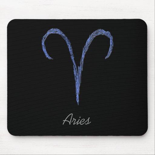 Aries. Muestra de la astrología del zodiaco Alfombrillas De Raton