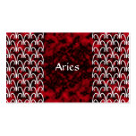 Aries Pattern Business Card Templates