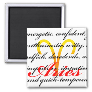 Aries Personality Magnet