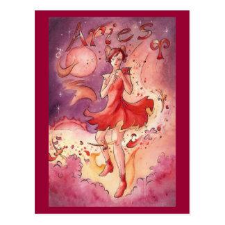 Aries Post Card