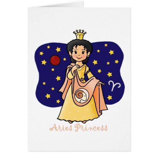 Aries Princess Cards