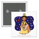Aries Princess Pinback Buttons