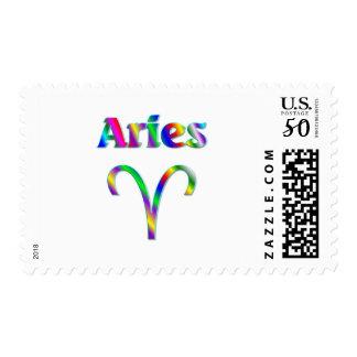 Aries Rainbow Postage