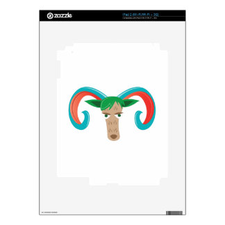 Aries Ram Decals For iPad 2