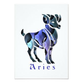 Aries Ram Invitation