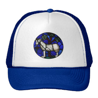 Aries - Ram Year 2015 Stained Glass Trucker Hat