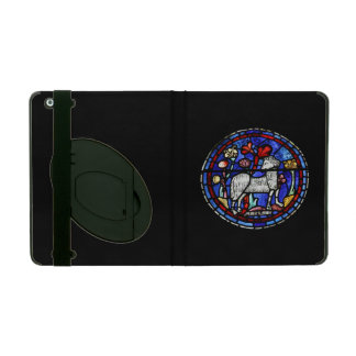 Aries Ram Year - Stained Glass Windows - powiscase iPad Case