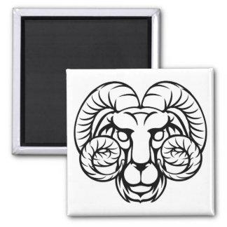 Aries Ram Zodiac Horoscope Sign Magnet