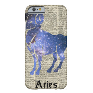 ARIES Ram Zodiac Sign Over Dictionary Page Barely There iPhone 6 Case