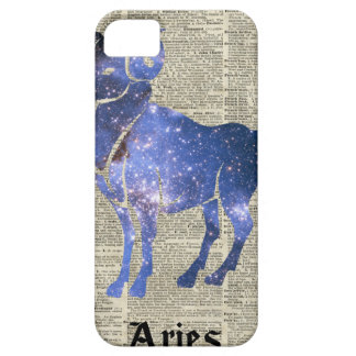 ARIES Ram Zodiac Sign Over Dictionary Page iPhone SE/5/5s Case