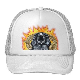 Aries Raven watercolor Trucker Hat