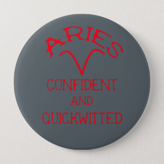 Aries (Red Text) Button