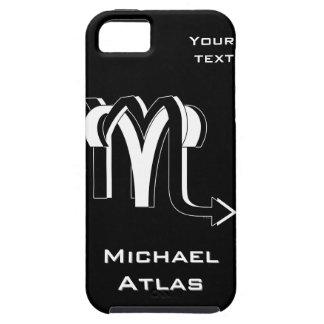 Aries & Scorpio bw iPhone SE/5/5s Case