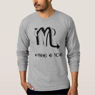 Aries & Scorpio bw Tee Shirt