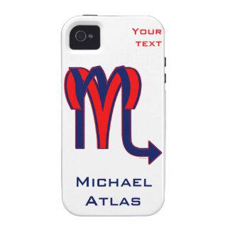 Aries & Scorpio Vibe iPhone 4 Case