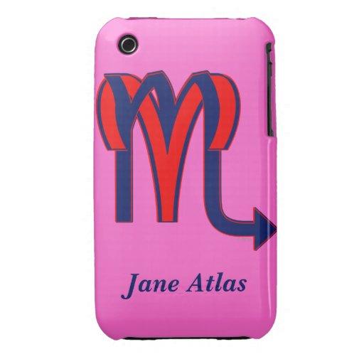 Aries & Scorpio iPhone 3 Case-Mate Case