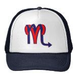 Aries & Scorpio Mesh Hats