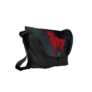 Aries Small Messenger Bag