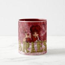 Aries Star Sign Birthday Mug