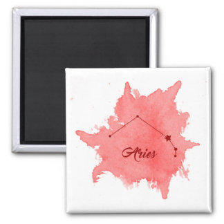 Aries Star Sign Magnet