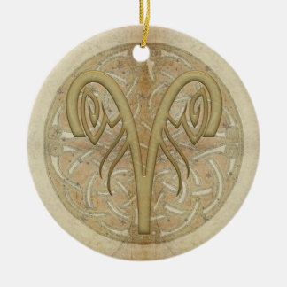 Aries Star Sign Personalized Ornament