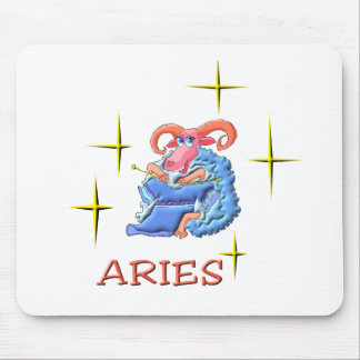 Aries (stars) mouse pad