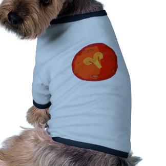Aries Symbol Dog Tshirt